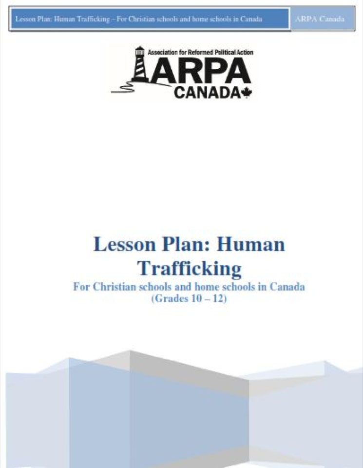articles on human trafficking in canada