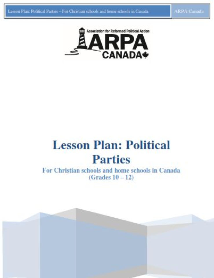 ARPA Canada - Lesson Plan Political Parties