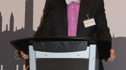 Dr. Boot speaks in Ottawa on the death of man and the crisis of social order at the Tuesday God & Government banquet