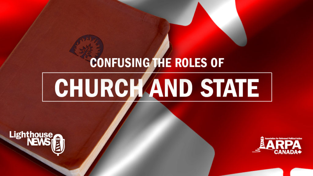 Confusing the roles of Church and State