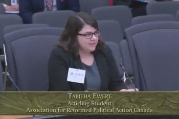 Tabitha Ewert Bubble Zone Bill Committee Presentation