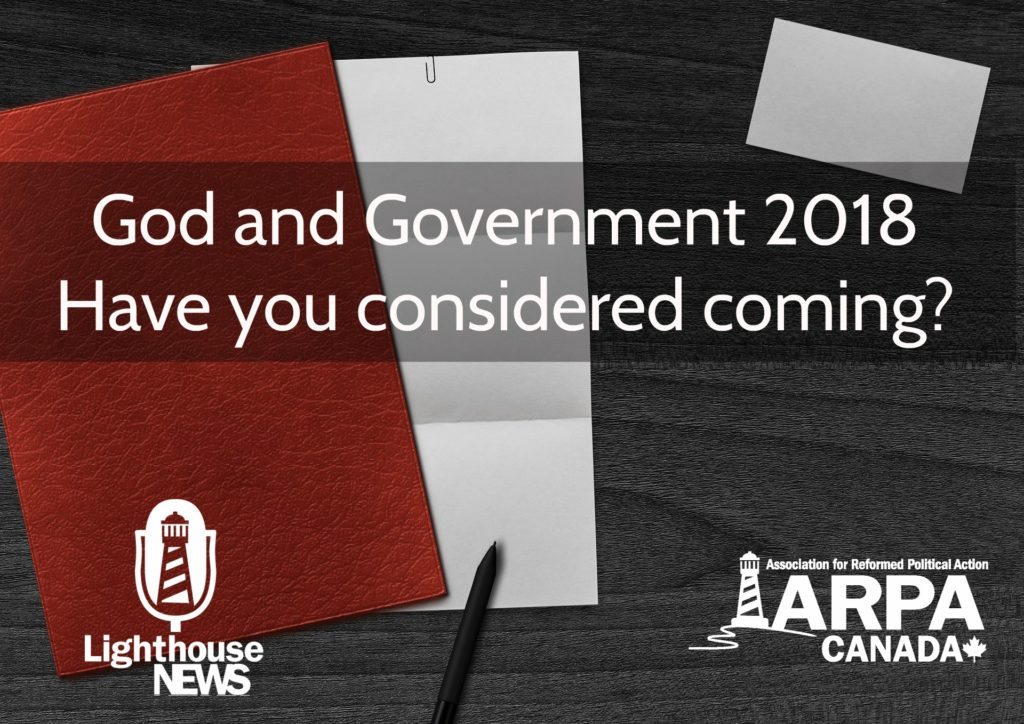 God and Government: Apply now!