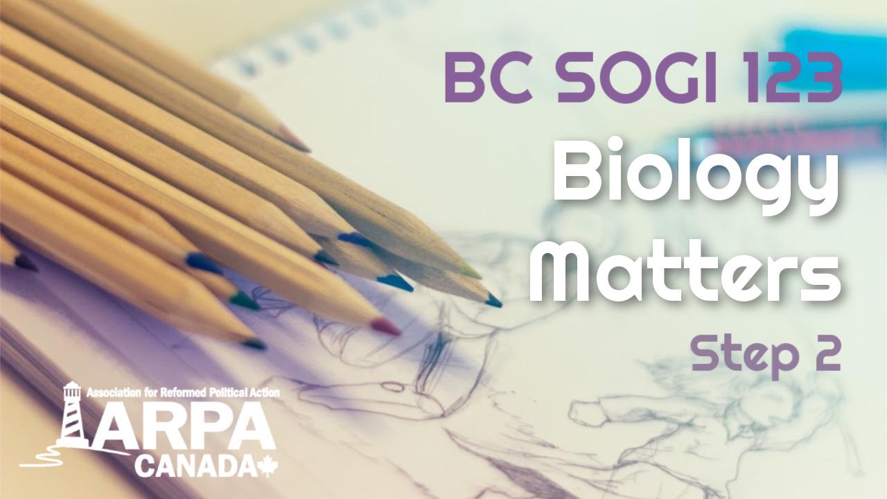 Step 2: Biology Matters