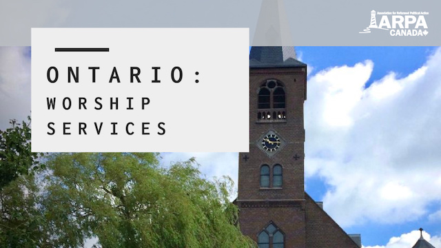 ON: Expand Church Services
